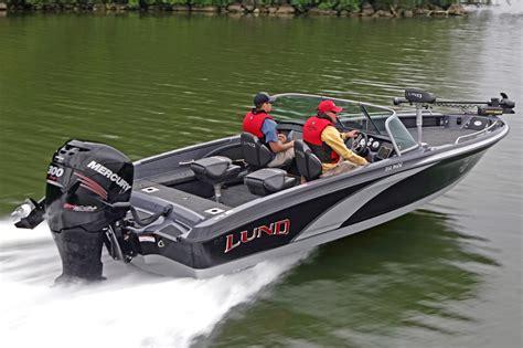 lund  pro  gl freshwater fishing boat