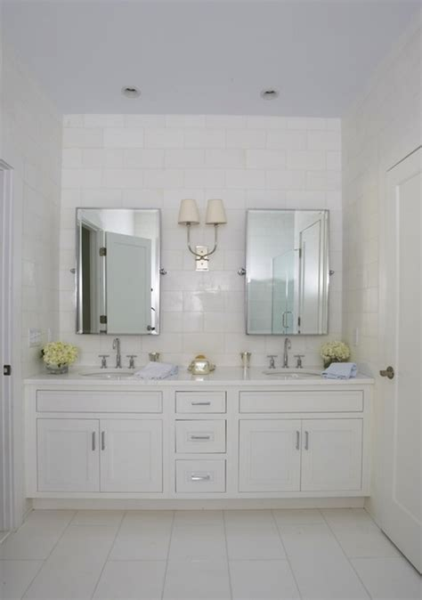 built  double vanity transitional bathroom lynn