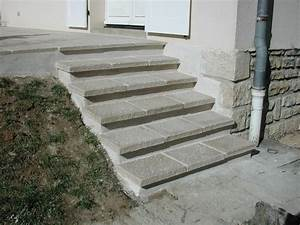 Revetement Escalier Exterieur : escalier beton exterieur deco beton exterieur exemple ~ Premium-room.com Idées de Décoration