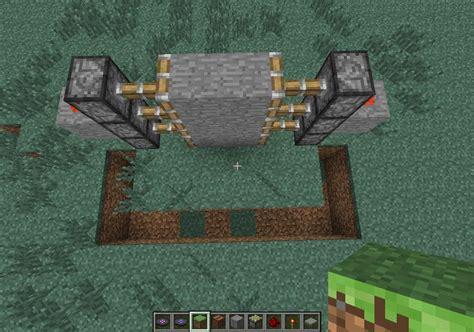how to make a secret door in minecraft pe how to create a piston door in minecraft 171 minecraft