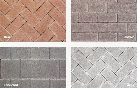 clay brick pavers price what are pavers cost information and ideas