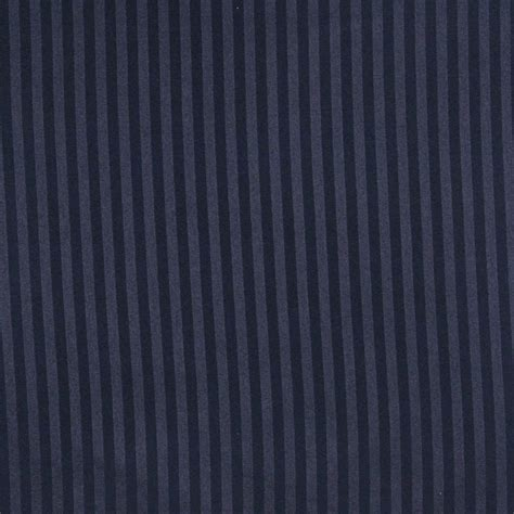 Striped Drapery Fabric by A117 Navy Thin Two Toned Striped Upholstery Fabric By The