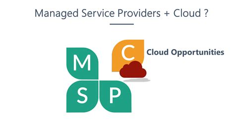 Cloudy With A Chance Of Managed Service Providers (msps