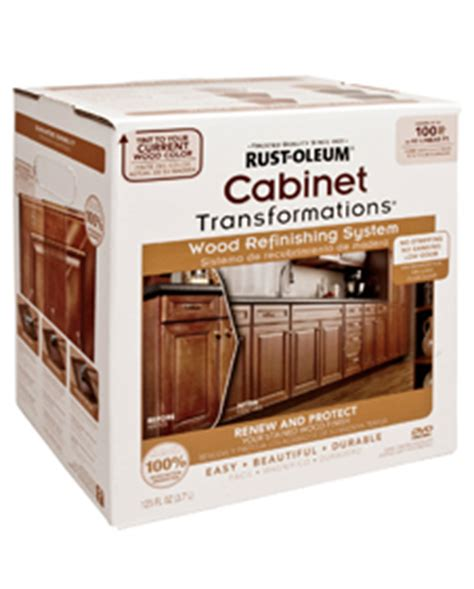 rustoleum kitchen cabinet kit cabinet transformations 174 wood refinishing system 5031