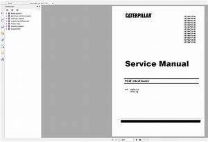 Caterpillar Cat 924f Wheel Loader Service Manual
