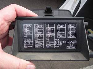 1996 Nissan Pathfinder Picture Of Fuse Panel Diagram
