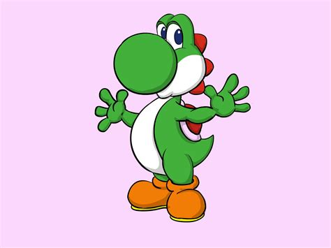 draw yoshi  mario  pictures wikihow