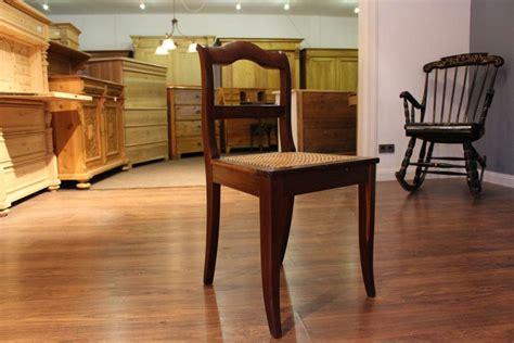 Antike Stühle Mit Geflecht by Antiker Biedermeier Stuhl Buche Mit Neuem Geflecht 02489