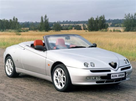 Alfa Romeo Spider Cabrio 1998  2003 Technical Data, Prices