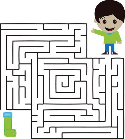 Easy Mazes For Kids  Activity Shelter