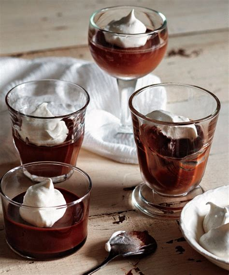 marilou cuisine pots de crème au chocolat noir et crème fouettée à la