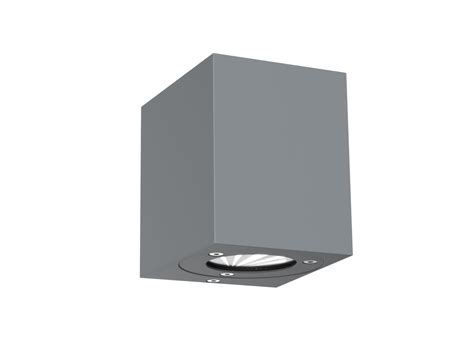 dftp nordlux canto kubi outdoor wall light grey