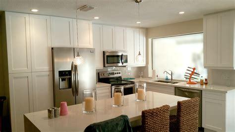 remodeled kitchen  open floor plan design