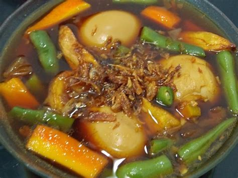 Resep masakan ayam kuah ala korea memang sedang banyak digandrungi ya? Resep Masakan Indonesia: Resep Semur Telur