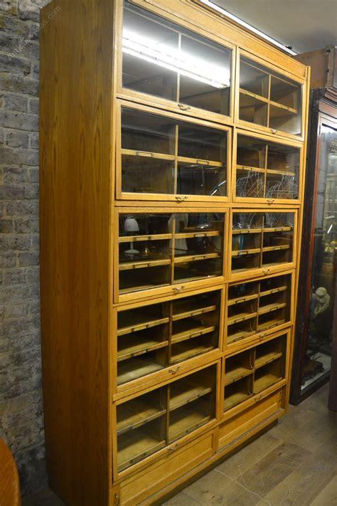 antique shop display cabinets for antique oak haberdashery shop display cabinet antiques atlas 9032