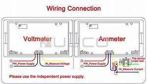 Ac Amp Meter Wiring Diagram