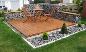 Gabionen Gartengestaltung Bilder : gabionen ideen ~ Whattoseeinmadrid.com Haus und Dekorationen