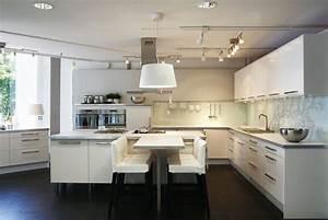 Ikea Cuisine Blanche : meubles cuisine abstrakt ikea blanc laque ~ Melissatoandfro.com Idées de Décoration
