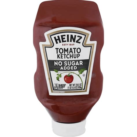 HEINZ No Sugar Added Tomato Ketchup | Ketchup | FairPlay Foods