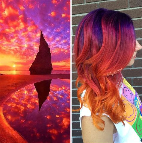balayage hair extensions this galaxy hair trend is out of this world bored panda