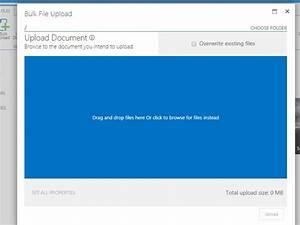 html5 sharepoint bulk file upload web part virtosoftware With documents 5 web