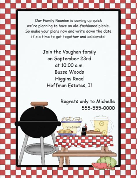 family reunion templates picnic invitation template 26 sle exle format free premium templates