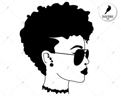 Afro woman icons and vector packs for sketch, adobe illustrator, figma and websites. Black woman svg black woman clipart sunglasses svg shades