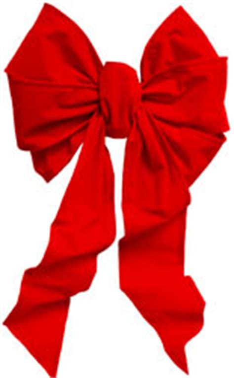 outdoor red velvet big bows