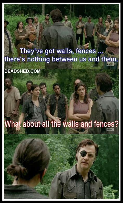 Walking Dead Memes Season 4 - deadshed productions war feels edition the walking dead 4x08 memes