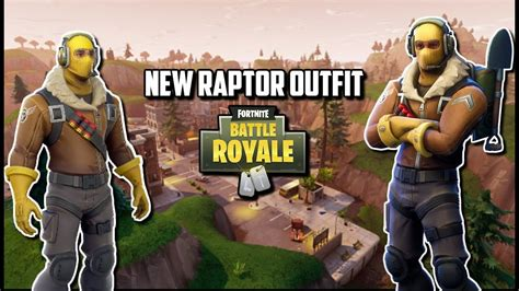 Raptor Outfit In Fortnite