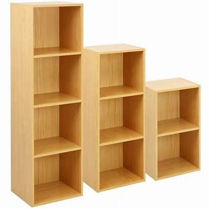 Shelf Rack Wooden Display Tier Storage Beech