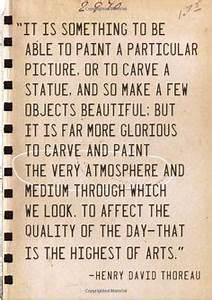 Inspirational q... Thoreau Book Quotes
