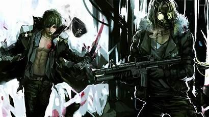 Gun Wallpapers Anime Guys Boy Guy Anarchist