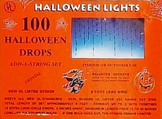 halloween icicle lights