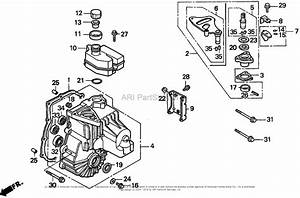 Honda H3011h Hsa Riding Mower  Jpn  Vin  Mzaj 13h Transmission Case