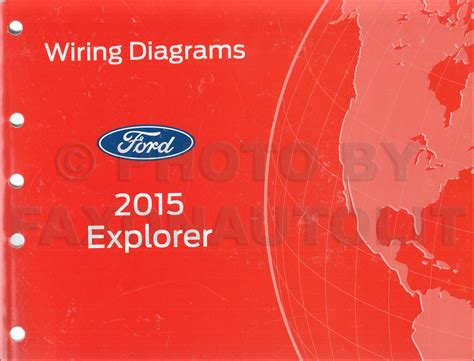 Ford Explorer Wiring Diagram Manual Original