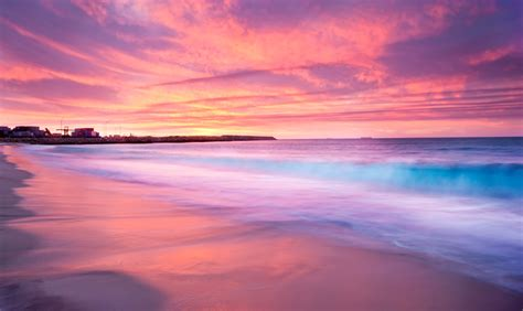Images And Places Pictures And Info Australia Beaches Sunset