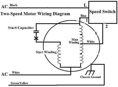 Two Speed Starter Wiring Diagram