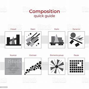 Composition Quick Guide Vector Illustration Stock Illustration - Download Image Now