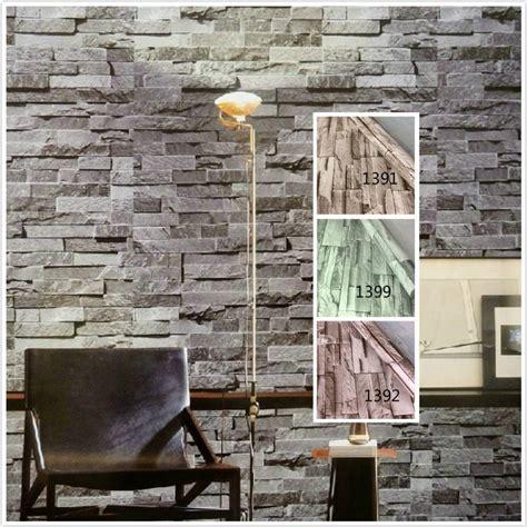 Brick 3d Wallpaper Sticker by ᗐpvc Vinyl Modern Faux Brick 3d Wallpaper Living