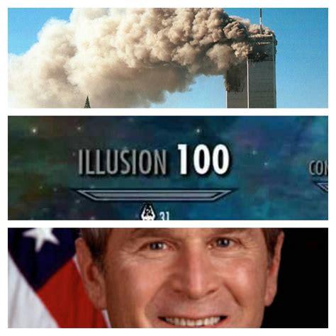Skyrim Skill Memes - bush did 9 11 skyrim skill tree know your meme