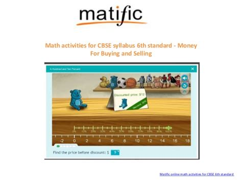 Cbse Math Games For 6th Standard From Matific