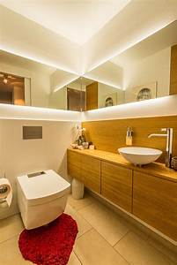 Gäste Wc Lampe : g ste wc mit viel spiegel und stauraum hinkelmann und langer bad design in g ppingen ~ Markanthonyermac.com Haus und Dekorationen