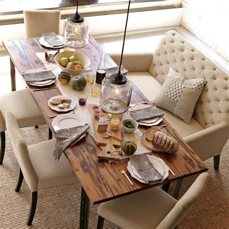 Settee In Dining Room by 19 Lovely Ways A Settee Can Squeeze More Guests Around The