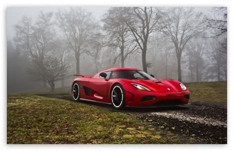 Red Koenigsegg 4k Hd Desktop Wallpaper For 4k Ultra Hd Tv