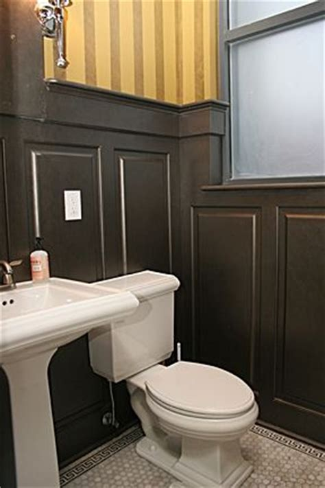Custom Wainscoting by Crafted Bathroom Custom Wainscoting Oxford Mid Wall