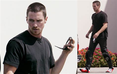 Photos Christian Bale Shopping For Motorcycle Gear