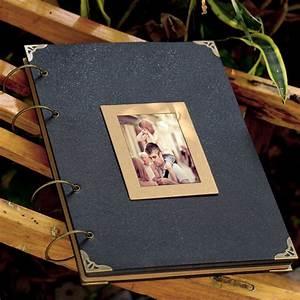 Extra Large Ring Binder Photo Album 76 Pages Kraft