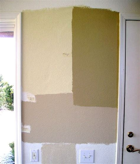 why professional painters test paint colors with sles