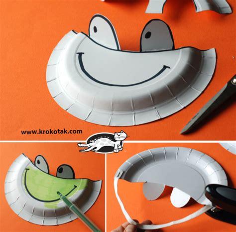 krokotak paper plate sun visors